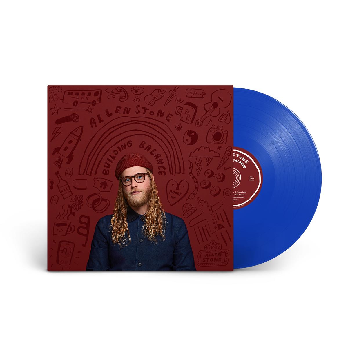 Allen Stone – Building Balance – Limited Edition Vinyl (translucent blue)