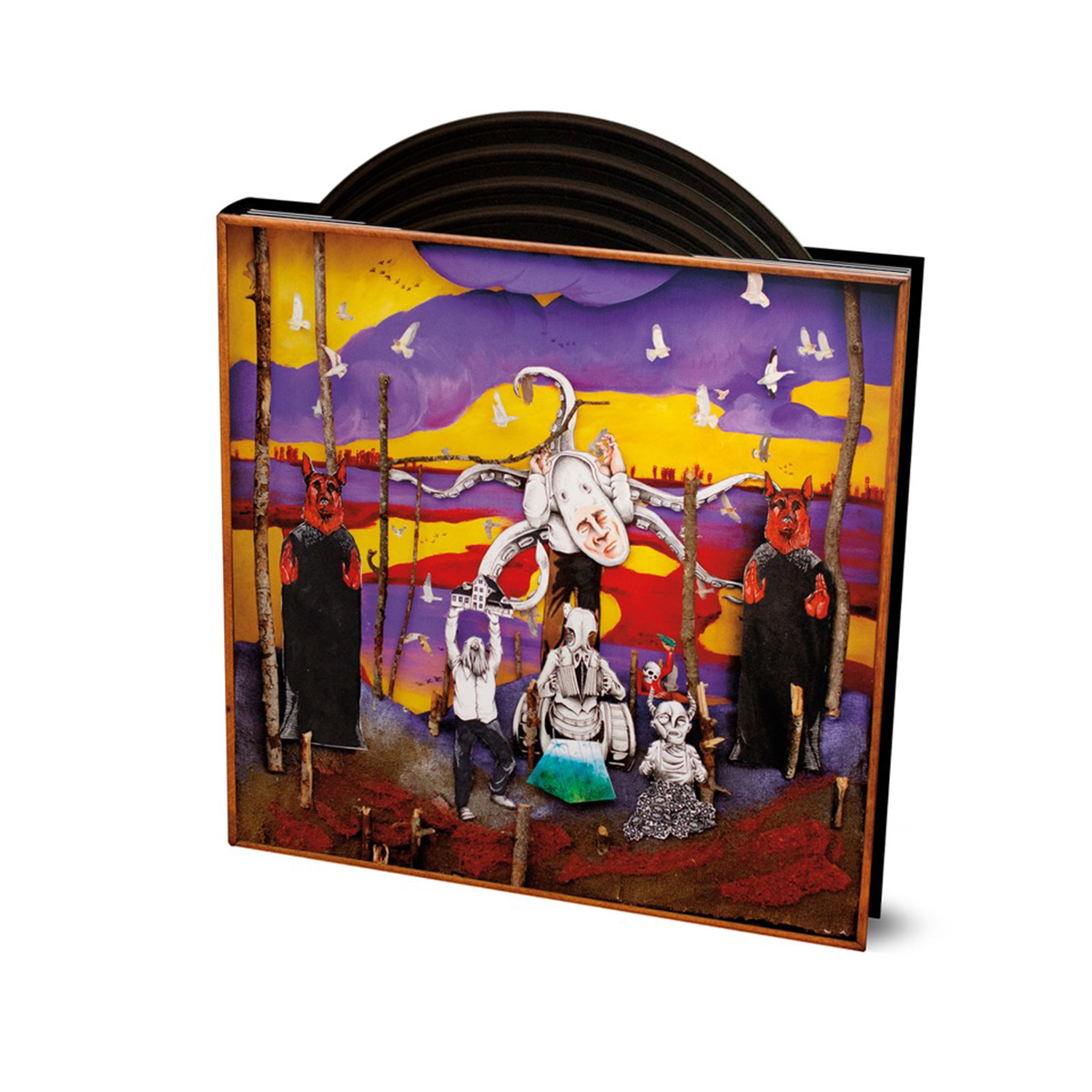 "Okkervil River ""A Dream In The Dark: Two Decades of Okkervil River Live"" 4xLP"
