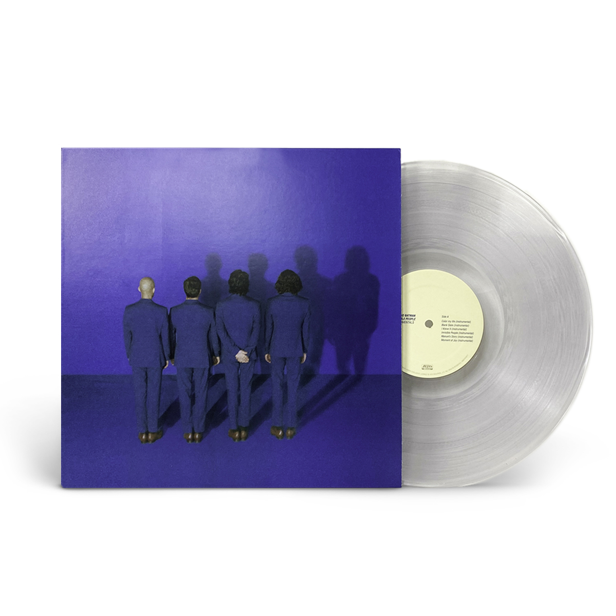 Chicano Batman - Invisible People (Instrumentals) Clear LP