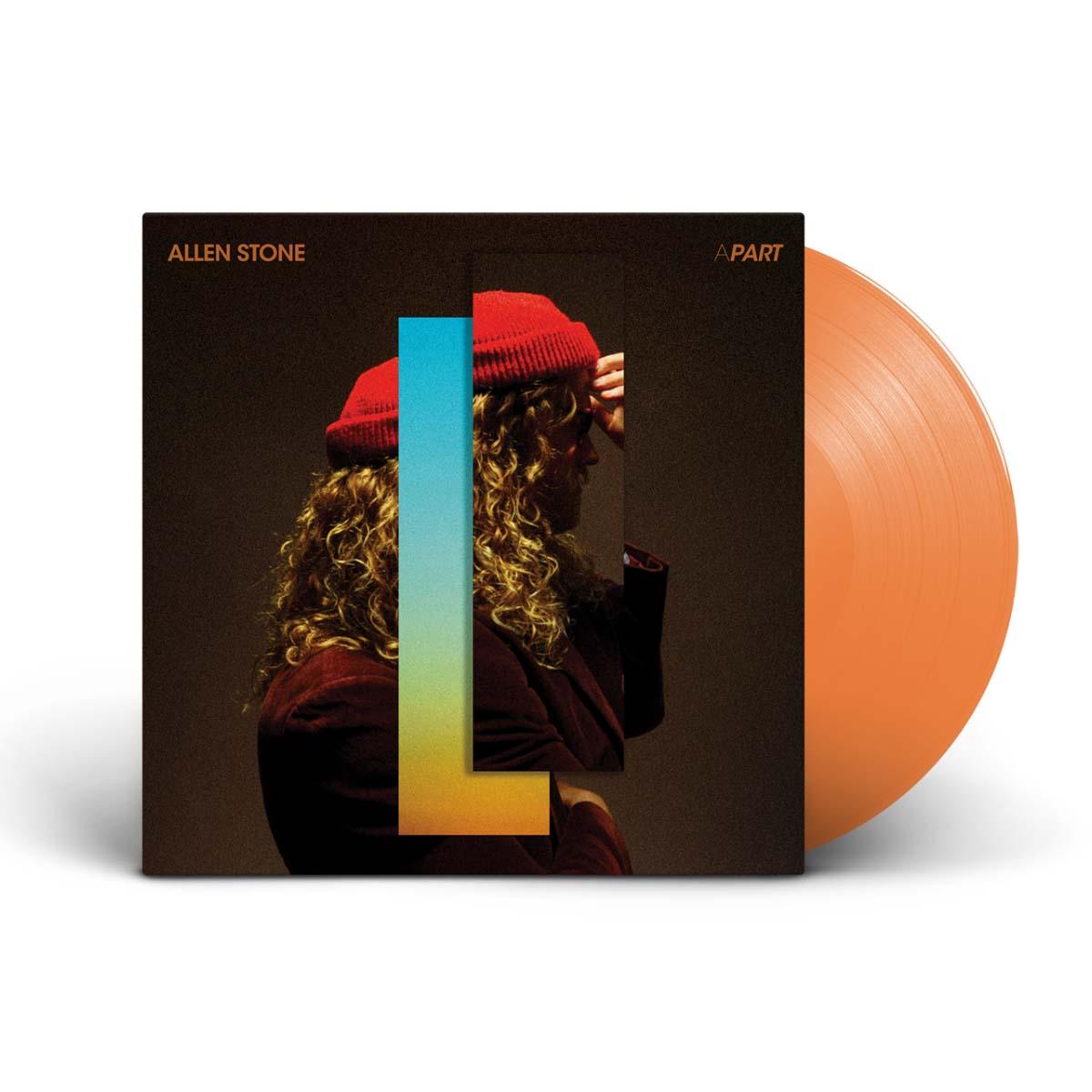 Allen Stone – APART on Translucent Orange Vinyl