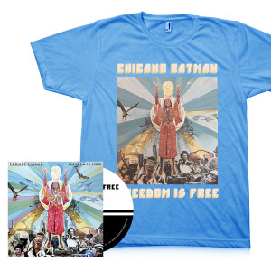 Chicano Batman - Autographed Freedom Is Free CD + T-shirt