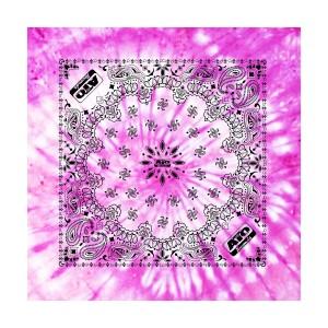 ATO Pink Tie Dye Bandana