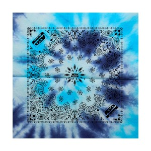 ATO Blue Tie Dye Bandana