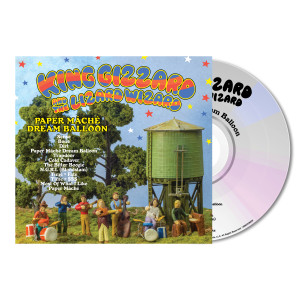 King Gizzard & The Lizard Wizard Paper Mache Dream Balloon CD