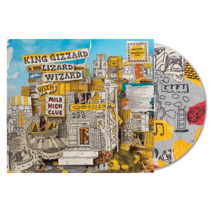 King Gizzard & the Lizard Wizard With Mild High Club - Sketches Of Brunswick East CD