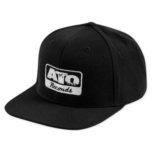 ATO Records Black Snapback Cap
