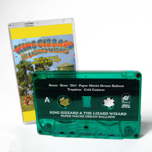 King Gizzard & The Lizard Wizard Paper Mache Dream Balloon Cassette