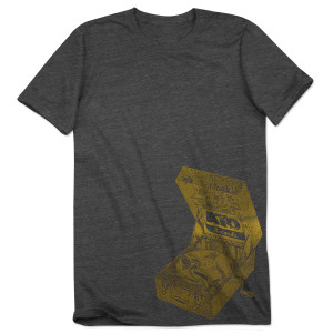 ATO Record Player Gray Unisex Tee