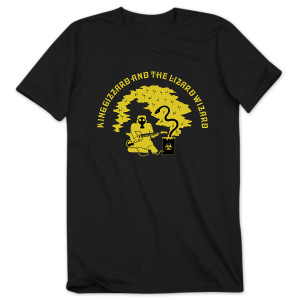 """Flying Microtonal Banana"" T-shirt"