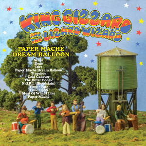 King Gizzard & The Lizard Wizard Paper Mache Dream Balloon Digital Download