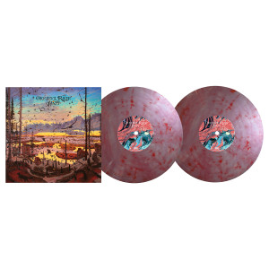 "Okkervil River ""Away"" LP (red marble version)"