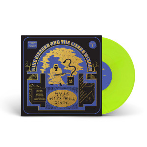 "King Gizzard & The Lizard Wizard – ""Flying Microtonal Banana"" Highlighter Yellow Vinyl"