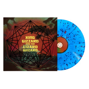 King Gizzard & The Lizard Wizard – Nonagon Infinity - Translucent Blue with Red Splatter Colored Vinyl