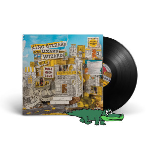 "King Gizzard & The Lizard Wizard w/Mild High Club – ""Sketches Of Brunswick East"" Black 180-Gram Vinyl"