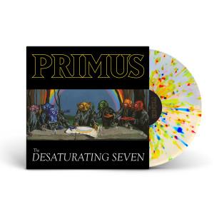 Primus - The Desaturating Seven Rainbow Splatter Colored Vinyl