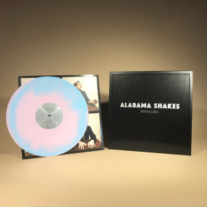 "Alabama Shakes - Boys & Girls ""Platinum Anniversary"" Colored Vinyl Reissue (Pink/Turquoise Swirl)"