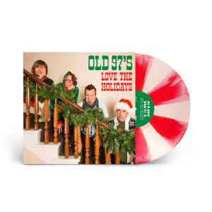Old 97's - Love The Holidays Limited-Edition Candy Cane Colored Vinyl