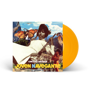 "Chicano Batman – Joven Navegante 12"" EP – Limited Edition Golden Yellow Vinyl"