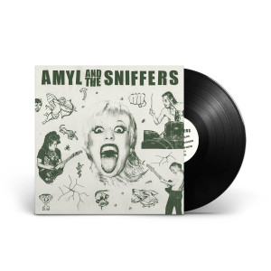 Amyl and The Sniffers Black Vinyl
