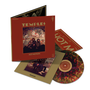 Temples – Hot Motion Deluxe Galaxy LP. US Exclusive Zoetrope Edition.