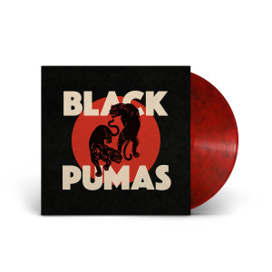 Black Pumas Black and Red Marbled Vinyl