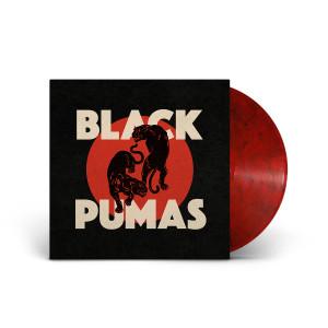 Black Pumas Black and Red Marbled Vinyl