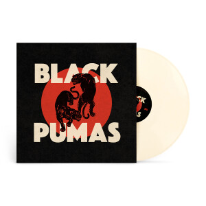 Black Pumas Cream Colored Vinyl