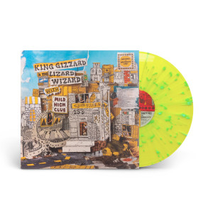 King Gizzard & The Lizard Wizard - Sketches of Brunswick East Yellow w/Blue Splatter Vinyl