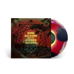 "King Gizzard & The Lizard Wizard – ""Nonagon Infinity"" Tri-Color Vinyl"