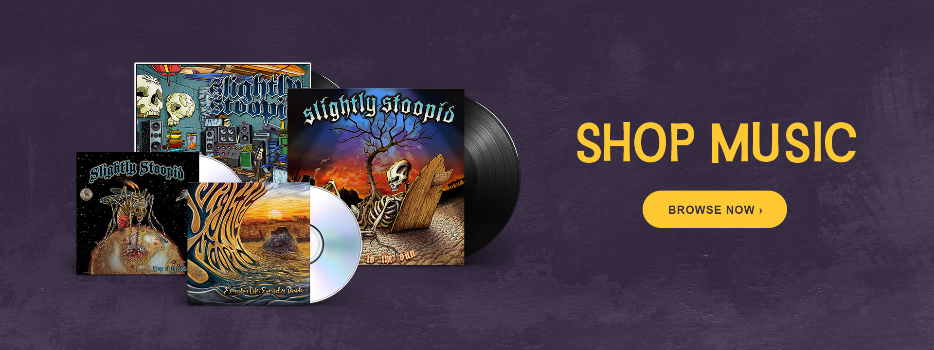Slightly Stoopid - Music Catalog - Shop Now