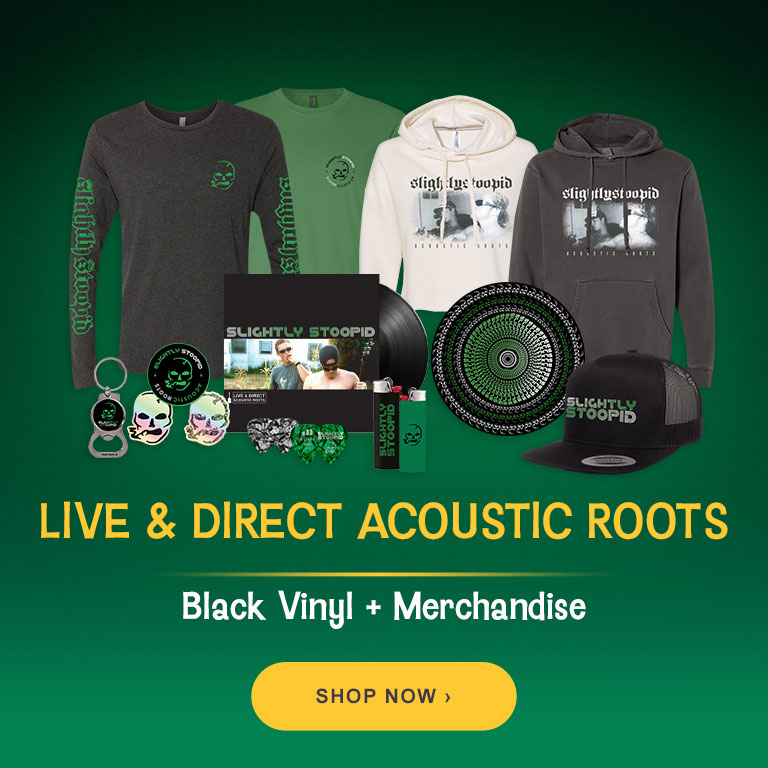 Live & Direct: Acoustic Roots - Pre-order Vinyl and Merchandise