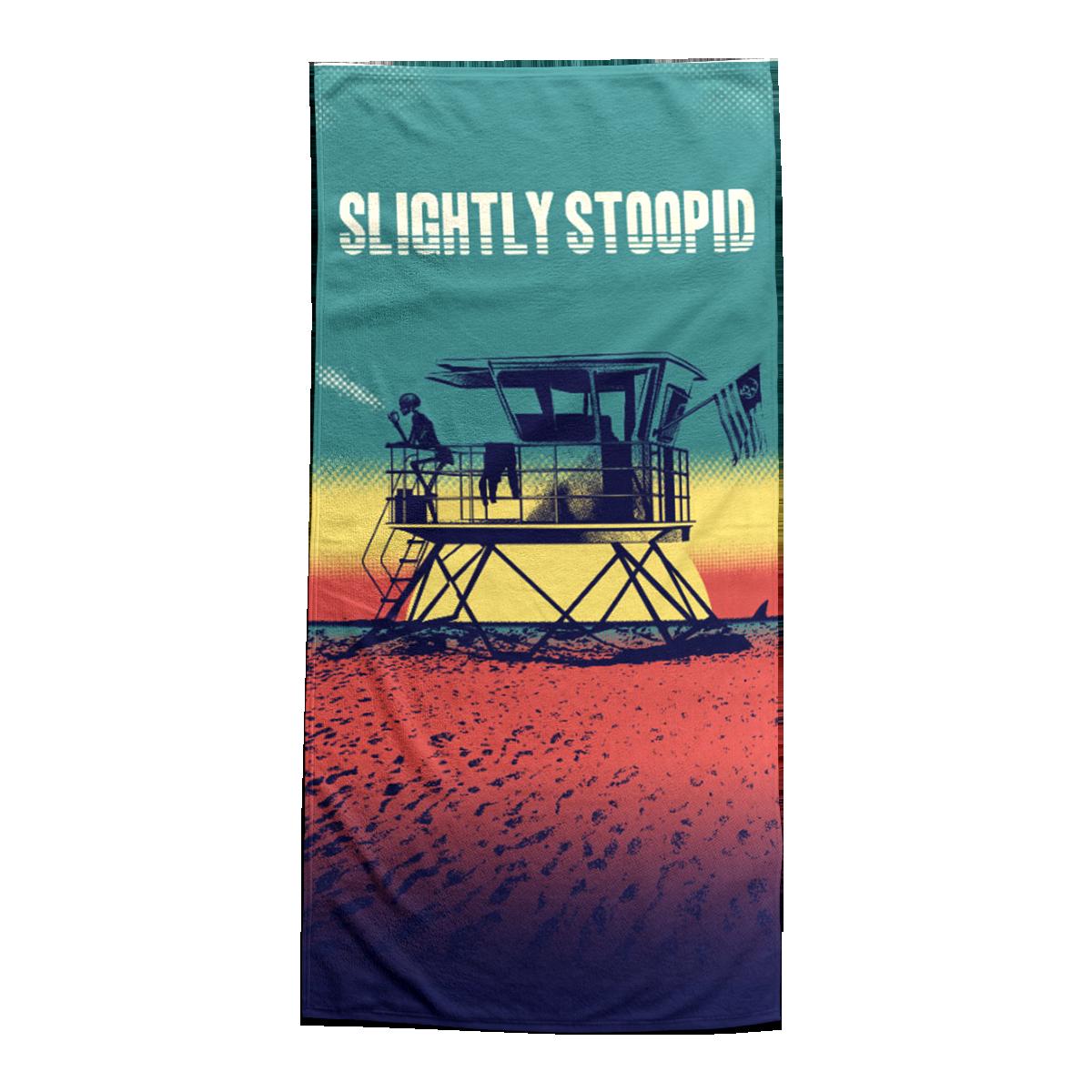 Lifeguard Tower Beach Towel