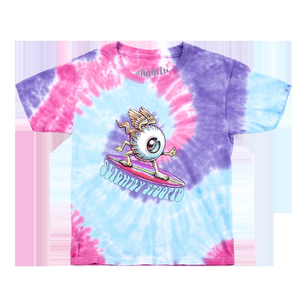 Youth Surfing Eye Tie Dye Tee