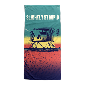 Lifeguard Tower Beach Towel
