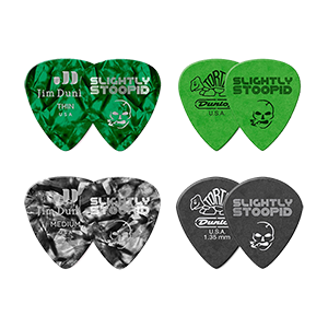 Acoustic Roots Guitar Picks - 4 Pack