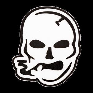 Smoking Skull Dab Mat
