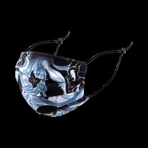 Slightly Stoopid - Skull Kiss - Pleated Mask
