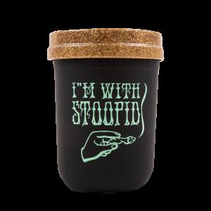 I'm With Stoopid ReStash Jar