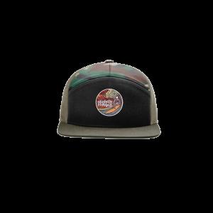 Red Rocks 2021 Surfer 7-Panel Trucker Hat