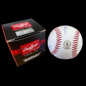 Signed Slightly Stoopid Baseball