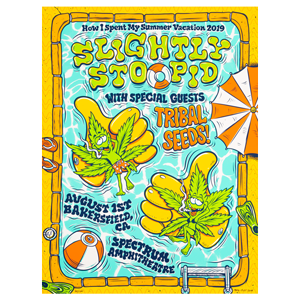 Bakersefield CA 8.1.19 Show Poster