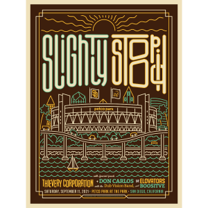 San Diego 2021 Stadium Poster