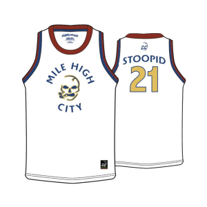 Red Rocks 2021 White Mile High Jersey
