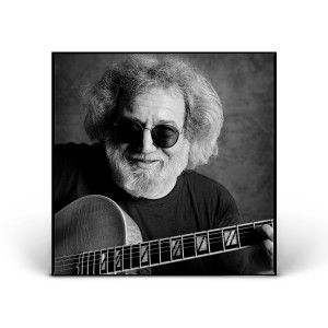 Jerry Garcia with Guitar - Mill Valley, CA 1993