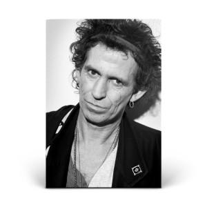 Keith Richards Portrait - 1992