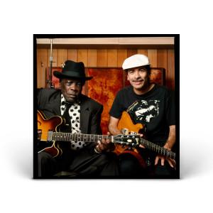 John Lee Hooker and Carlos Santana - Sausalito, CA 1991