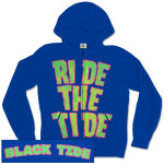 Black Tide Rip Tide Royal Blue Zip Hoodie