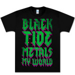 Black Tide Metal World Tee