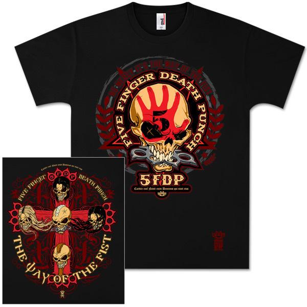 Five Finger Death Punch Bonehead Tour T-Shirt