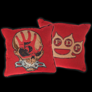 Five Finger Death Punch Knucklehead Woven Pillow
